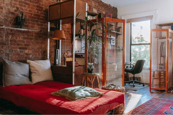 Dividere spazi in casa senza opere murarie