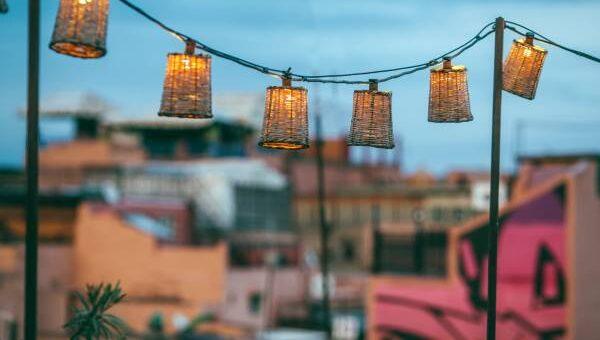 decorare con le lanterne