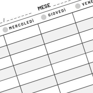 agenda organizza appuntamenti